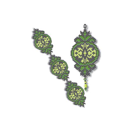 Ornate Celtic Scrolls Beading Patterns